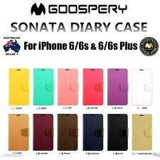 iPhone 6 6s 6 Plus and 6s Plus Genuine MERCURY Goospery Flip Case Wallet Cover