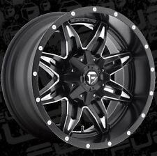 Fuel Lethal D567 20x10 8x6.5 ET-24 Black Wheels Rims (Set of 4)