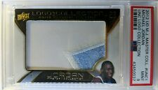 2012 U D Master Collection UNC Logo Patch Michael Jordan #UNC1, PSA 9, Pop 1 !
