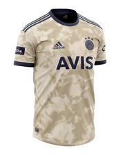 Fenerbahce 2020 2021 Season Gold Away Match Jersey Shirt Adidas DHL EXPRESS NEW