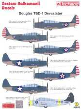 Techmod Decals 1/48 DOUGLAS TBD-1 DEVASTATOR 1941-1942