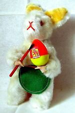 AUTOMATE CARL - RARE LAPIN DE PÂQUES QUI PEINT SON OEUF - MADE IN WEST GERMANY