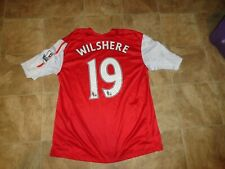 Men's Nike Arsenal Fly Emirates Wilshere #19 Soccer Jersey Size Xl