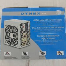 NEW SEALED Dynex 400 Watt ATX CPU Power Supply DX-400WPS White 6-Pin PCI Express