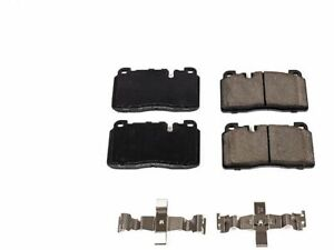 For 2016 Audi A6 Disc Brake Pad and Hardware Kit Front Power Stop 16457DB