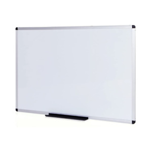 Magnetic White Board For Wall Dry Wipe Heavy Duty Aluminium Frame Durable