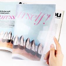 Full Page Vergrößerungsblatt Fresnel Linse 3X Vergrößerer Zum Lesen Glas Pop NEU