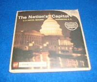 Vintage The nation's Capitol (A794) View-Master 3 Reel PACKET SET