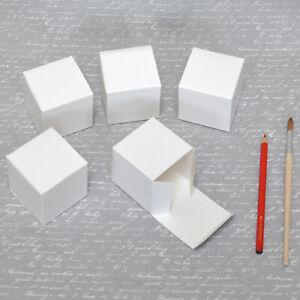 Würfelbox, Schachtel, Box, weiß 6x6x6cm - Hochzeit Geburtstag Adventskalender