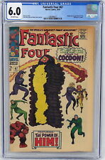 Marvel Comics Fantastic Four #67 CGC 6.0 Origin 1st Appear Him Warlock 1967