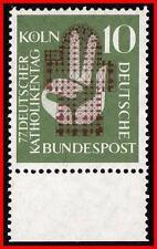 GERMANY 1956 CATHOLICS' MEETING SC#750 MNH  RELIGION E12