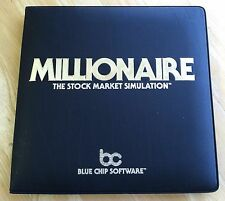 Millionaire by Blue Chip Software with 5.25 inch disk for Apple II+,IIe,IIc,IIgs