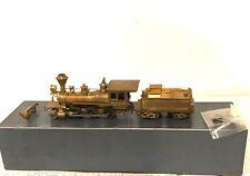Ken Kidder HO Scale Brass 1880 Porter Mogul 2-6-0 Steam Locomotive & Tender OB