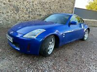 NISSAN 350Z GT AZURE BLUE, 78K LOW MILES, FSH, BOSE, HEATED LEATHER, RECENT £££