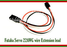 JR, Futaba Servo Extension Wire Male to Female connector 22AWG 300mm wire x 3