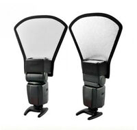 Sector Flash Diffuser Softbox Silver+White Reflector FIT For Canon Nikon Camera