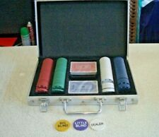 Poker set including cards, chips, case. Full set plus more. Sell 4 Charity.