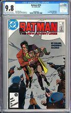 Batman #410 CGC 9.8 WP 1987 3789344002 1st Post-Crisis Jason Todd!
