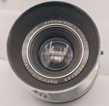 Custom Schneider-Kreuznach Retina-Curtagon 28mm F4 DKL Lens In Prontor Shutter