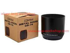 CONTAX 645 GB-74 Lens Hood Carl Zeiss Sonnar 210/4 in Box