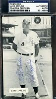 Luke Appling Psa/dna Signed Photo Pc Autograph Authentic