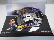 CITROEN C4 WRC RAIKKONEN RALLY SWEDEN 2010 ALTAYA IXO 1/43