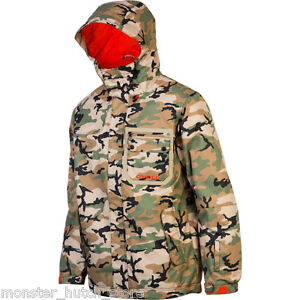 BRAND NEW WITH TAGS O'Neill SECTOR Snowboard Ski Jacket CAMO MEDIUM-2XLARGE