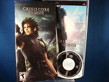 PSP Crisis Core Final Fantasy VII Video Game