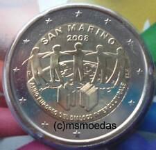 San marino 2 euros conmemorativa 2008 diálogo Commemorative Coin moneda euro