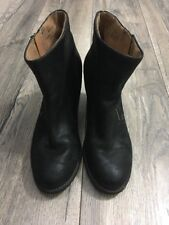 Clarks Ladies Black Ankle Boots UK 5 D