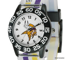 Minnesota Vikings Time Teacher Youth Watch by SPARO Officially Lic NFL Football