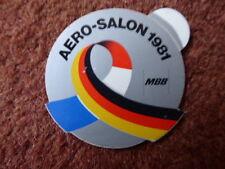 AUTOCOLLANT STICKER MBB MESSERSCHMITT BOLKOW BLOHM AERO SALON 1981 LE BOURGET