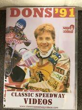NEW: Wimbledon Montine Dons 1991 review. Speedway dvd. Christmas stocking filler