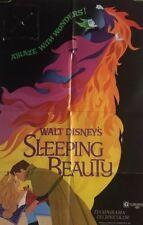 Sleeping Beauty Movie Poster One Sheet Walt Disney Original Pin-up 1970 1970's