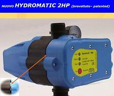 Presscontrol Hydromatic 2HP con regolazione e manometro brevetto italiano Matic