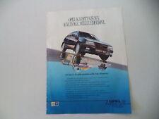 advertising Pubblicità 1988 OPEL KADETT GSI 16V
