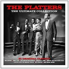 Ultimate Collection by The Platters (3CD, Sep-2014 Digipak) GC FREE SHIPPING