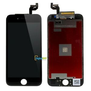 TOUCH SCREEN FRAME VETRO LCD DISPLAY RETINA SCHERMO PER APPLE IPHONE 6S NERO
