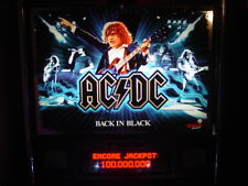 Ac/Dc Back in Black Limited Edition Pinball Machine, Will Ship