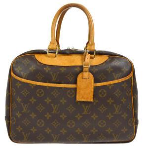 LOUIS VUITTON DEAUVILLE BUSINESS HAND BAG  MONOGRAM CANVAS M47270 uhl 37691
