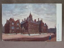 Vintage RAPHAEL TUCK & SONS' OILETTE Post Card. Assize Courts, Manchester.