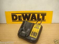 BRAND NEW DEWALT XR DCB107 10.8V 14.4V 18V XR LI-ION MULTI CHARGER 240V