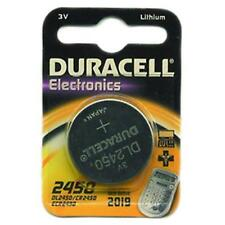 Batteries Duracell Spécial Lithium 3V Cr 2450
