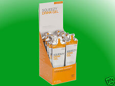 (29,10€/kg)   Squeezy Drink Gel Box - 12 Gels a 60ml