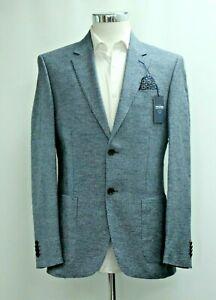 Men's T.M.LEWIN Slim Fit Pembridge Blue Blazer Jacket  Ref 64138 / 7516