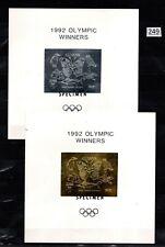 # GUYANA - MNH - GOLD+SILVER - SPECIMEN - OLYMPICS, BUTTERFLY, FISH, BIRDS