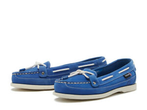 Chatham ALCYONE - G2 Ladies Cobalt Nubuck Boat Casual Moccasin Shoes RRP89