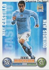 NERY CASTILLO # MEXICO NEW MANCHESTER CITY.FC CARD PREMIER LEAGUE 2008 TOPPS
