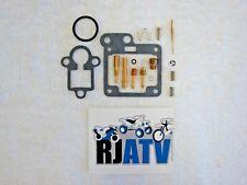 Yamaha YFM80 Badger 80 1992-2001 Carb Rebuild Kit Repair