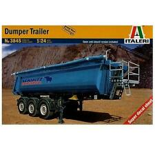 DUMPER TRAILER Vasca Rimorchio Super Decals Sheet Italeri 3845 1/24 model Kit
